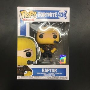 Fortnite Raptor Funko Pop